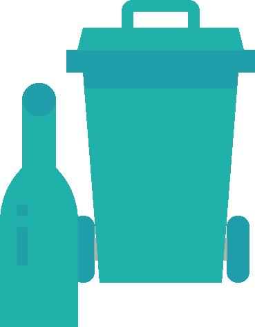 FA recycle-bin groen